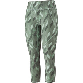 Patagonia Centered korte broek Dames, fast quilt/gypsum green